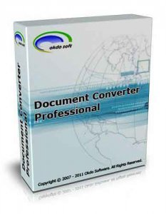 Okdo Document Converter Pro v.4.4 (x32/x64/ENG) - Тихая установка