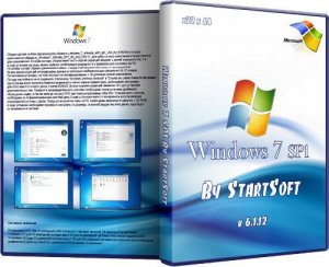 Windows 7 SP1 By StartSoft Version UpDate v6.1.12 (x32/x64/2012/RUS)
