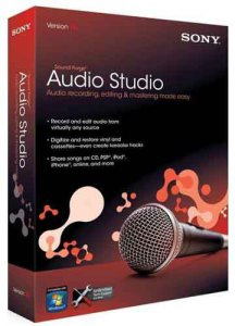 Sony Sound Forge Audio Studio 10.0 Build 177