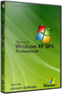 Windows XP SP3 IDimm Edition (24.12 /RUS)