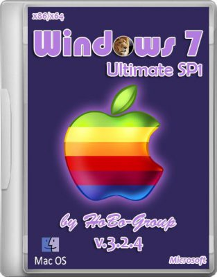 Windows 7 Ultimate SP1 by HoBo-Group v 3.2.4 (x86/x64/2012)
