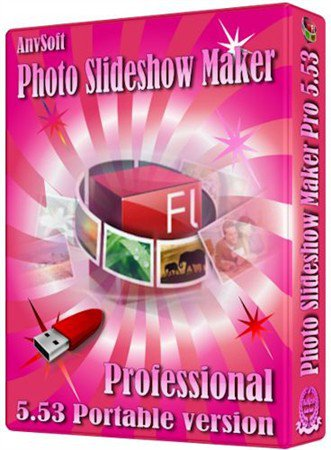AnvSoft Photo Slideshow Maker Professional 5.53 Portable