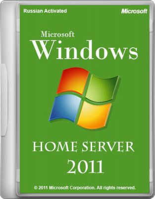 Microsoft Windows Home Server 2011 Russian Activated by m0nkrus
