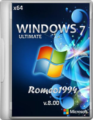 Windows 7 Ultimate by Romeo1994 8.00 (x64/2012)