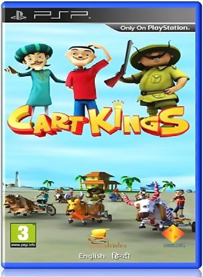 Cart Kings (2013) (ENG) (PSP)