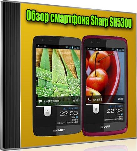 Обзор смартфона Sharp SH530U (2012) DVDRip
