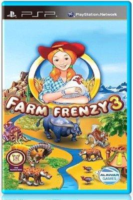 Farm Frenzy 3 (2012) (RUS) (PSP)