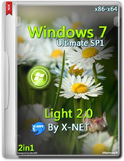 Windows 7 Ultimate Light v.2.0 By X-NET x86/x64 Update 09.04.2014 (2014/RUS)