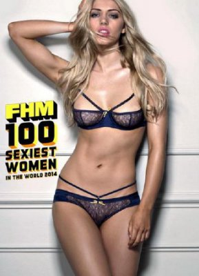 FHM. 100 Sexiest Women In The World (2014/UK)
