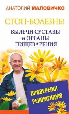 СТОП-болезнь! Вылечи суставы и органы пищеварения / Анатолий Маловичко  / 2015
