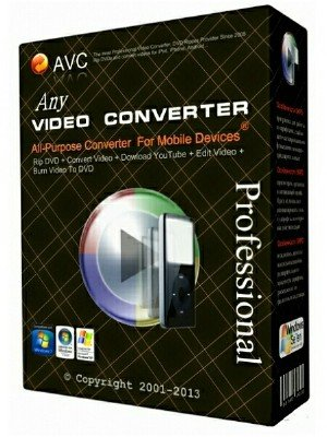 Any Video Converter Professional 5.8.7