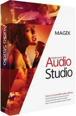 MAGIX Sound Forge Audio Studio 10.0 Build 295