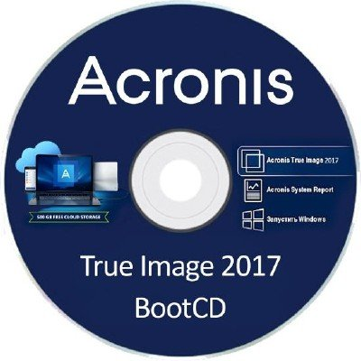 Acronis True Image 2017 20.0 Build 5554 Final BootCD