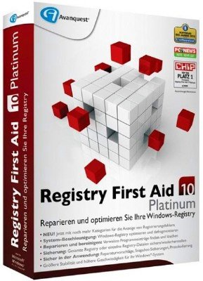 Registry First Aid Platinum 10.1.0 Build 2298 DC 21.09.2016