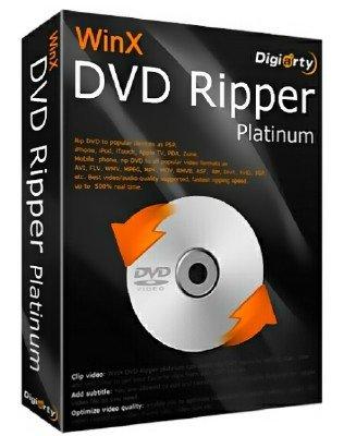 WinX DVD Ripper Platinum 8.5.0.173 DC 23.03.2017 + Rus