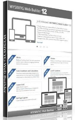 WYSIWYG Web Builder 12.1.1