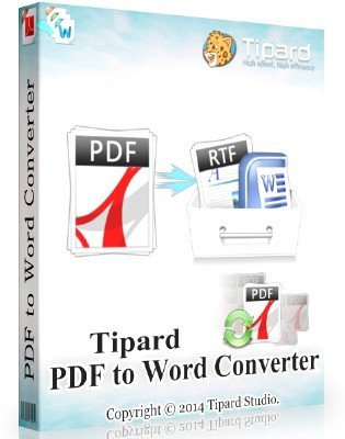Tipard PDF to Word Converter 3.3.18 + Rus