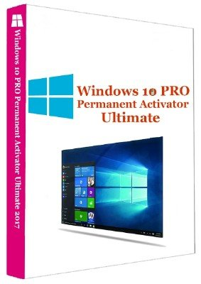 Windows 10 Pro Permanent Activator Ultimate 2017 1.9