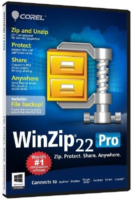 WinZip Pro 22.0 Build 12663 (x86/x64) Russian