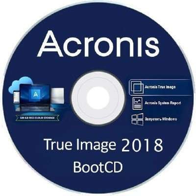 Acronis True Image 2018 Build 10410 Final BootCD