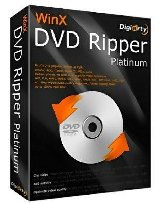 WinX DVD Ripper Platinum 8.6.0.208 Build 17.10.2017 + Rus