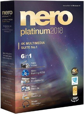 Nero Platinum 2018 Suite 19.0.10200 + Content Pack