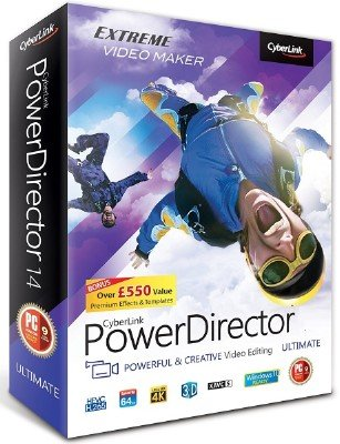 CyberLink PowerDirector Ultimate 16.0.2524.0 + Rus