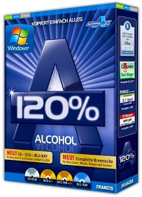 Alcohol 120% 2.0.3 Build 10203 Retail