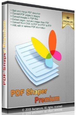 PDF Shaper Premium 8.2