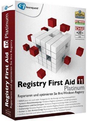 Registry First Aid Platinum 11.1.0 Build 2492