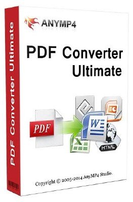 AnyMP4 PDF Converter Ultimate 3.3.20 + Rus