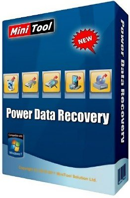 MiniTool Power Data Recovery 8.0 Business Standard / Deluxe / Enterprise / Technician