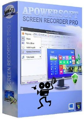 Apowersoft Screen Recorder Pro 2.3.5 (Build 08/08/2018) + Rus