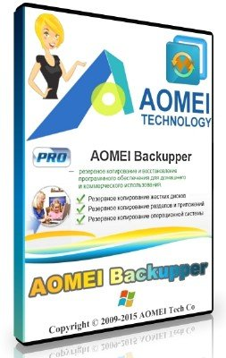 AOMEI Backupper 4.5.2 Professional / Technician / Technician Plus / Server + Rus