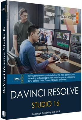 Blackmagic Design DaVinci Resolve Studio 16.0.0.60